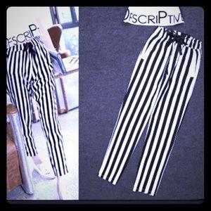 Pants - 🔲 striped pants